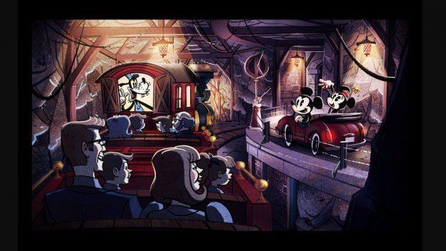 Disney Point Hollywood Studios Mickey & Minnie's Runaway Railway