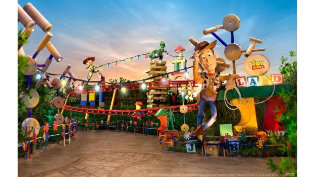 Disney Point Hollywood Studios Toy Story Land