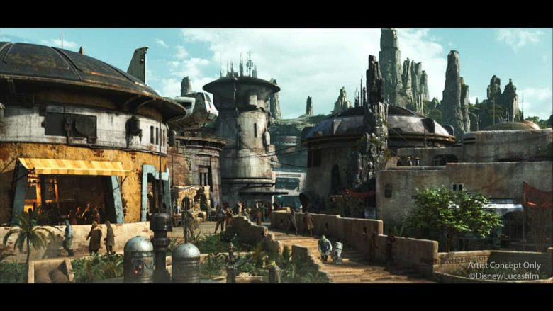 Disney Point Star Wars Black Spire Outpost