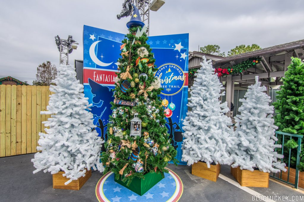 Disney Point Christmas Tree Trail Blog Mickey