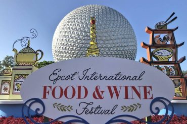 Disney Point Epcot Food and Wine Festival 2018