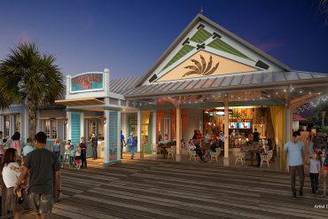 Disney Point Caribbean Beach Sebastians Bistro Entrada