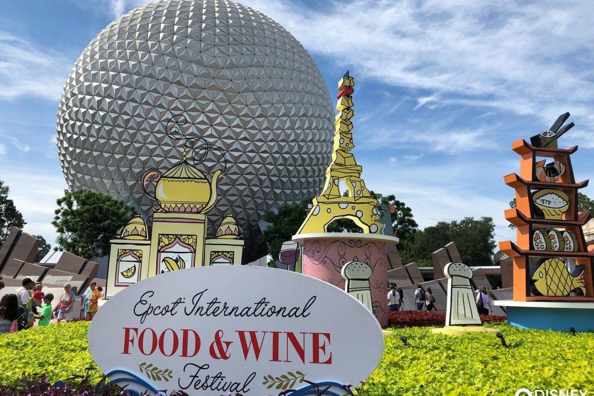 Disney Point Epcot Food & Wine