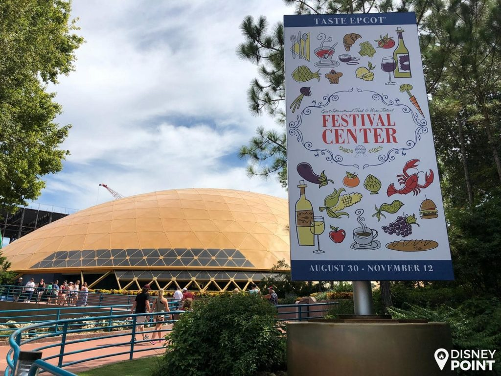 Disney Point Epcot Food & Wine Festival Center