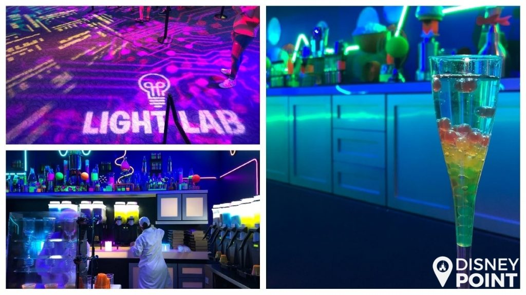 Disney Point Epcot Food & Wine Light Lab-min