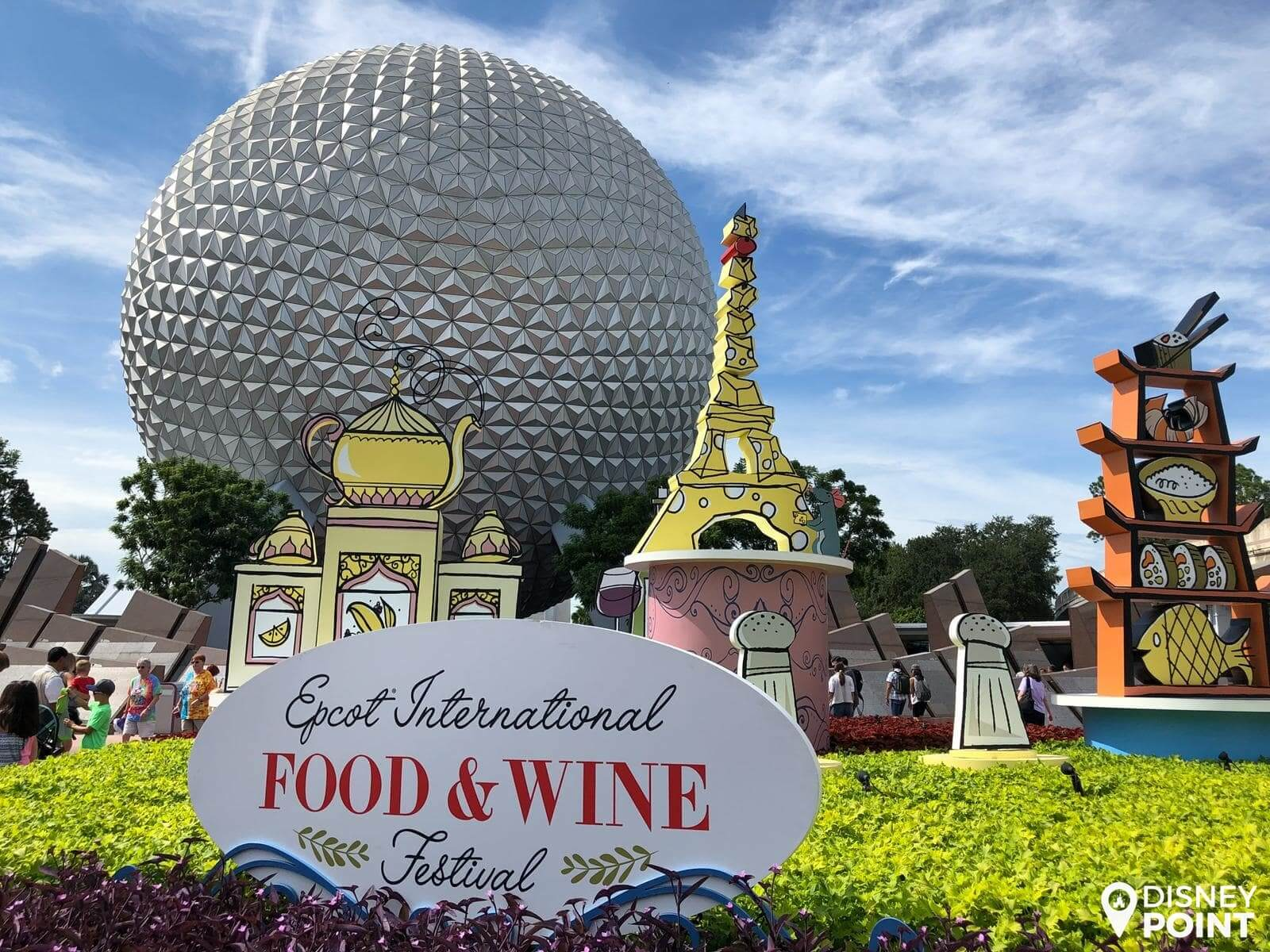 Disney Point Epcot Food & Wine