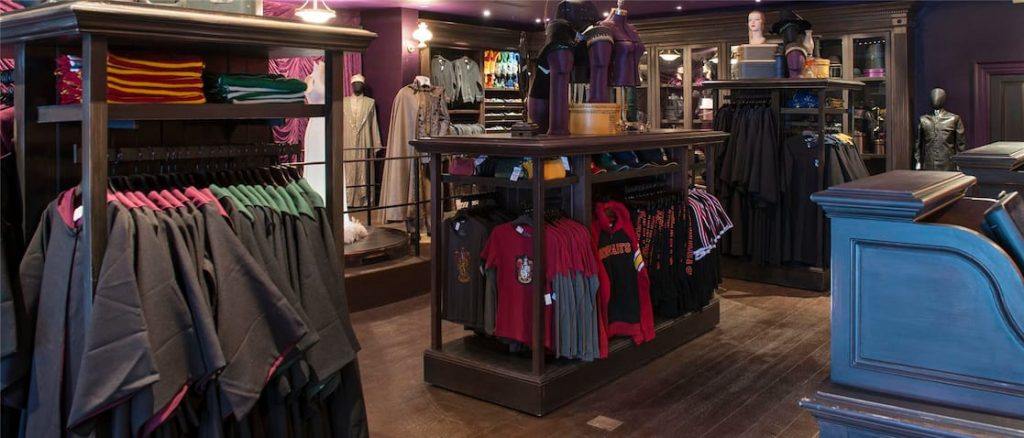 Disney Point Wizarding World of Harry Potter Madame Malkins-min
