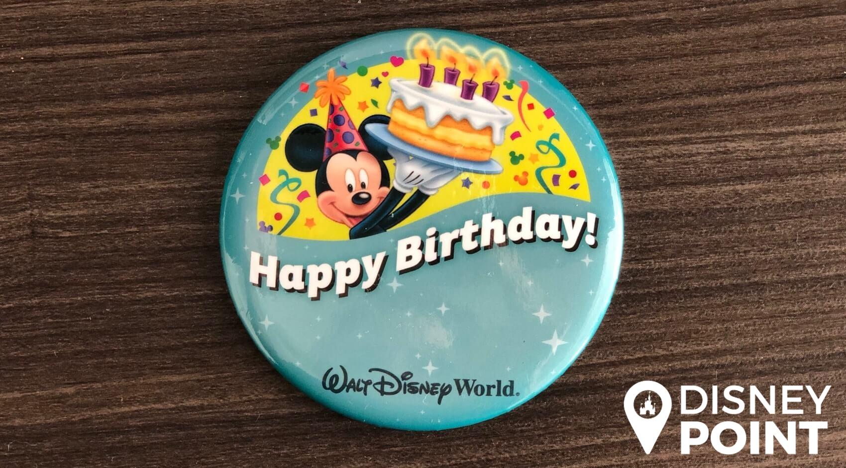 Disney Point Button Grátis Disney Aniversario-min