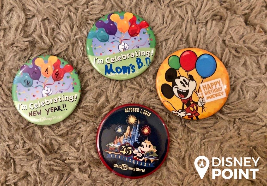 Disney Point Buttons Grátis Orlando-min