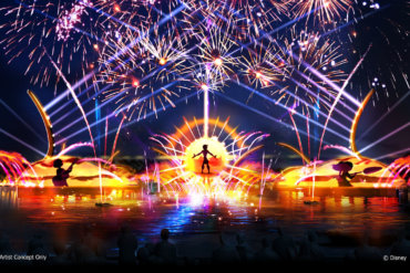 Disney Point Epcot Show Fogos 2020