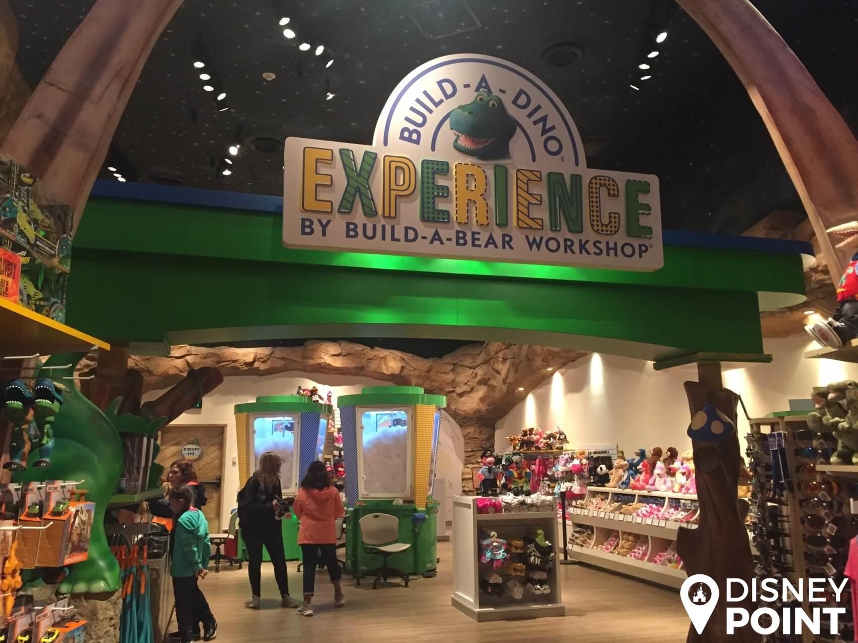 Disney Point T-Rex Dinossauros Springs Build a Dino-min