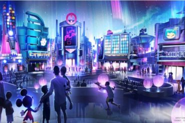 Disney Point Epcot Novo Pavilhão Cidade