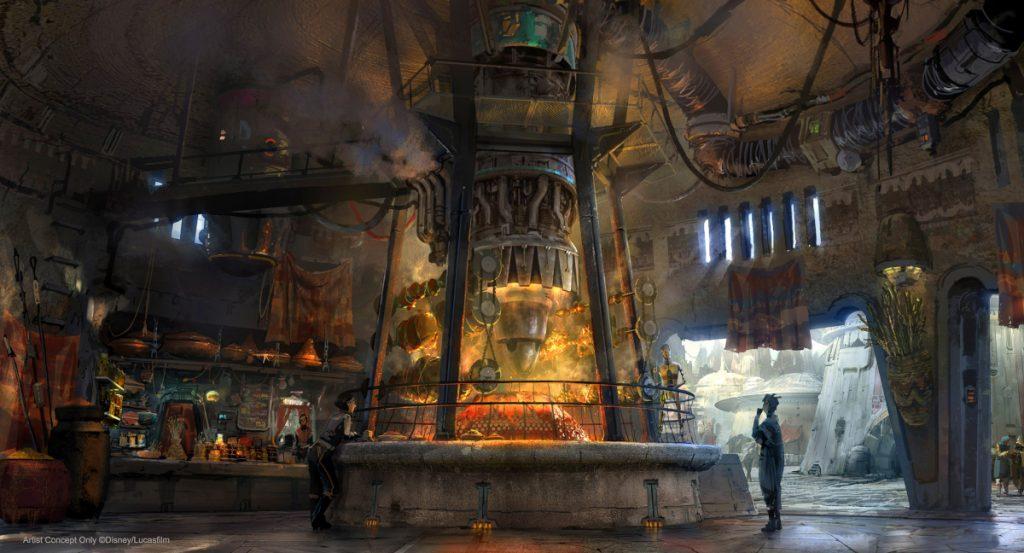 Disney Point Star Wars Galaxys Edge Ronto Roasters