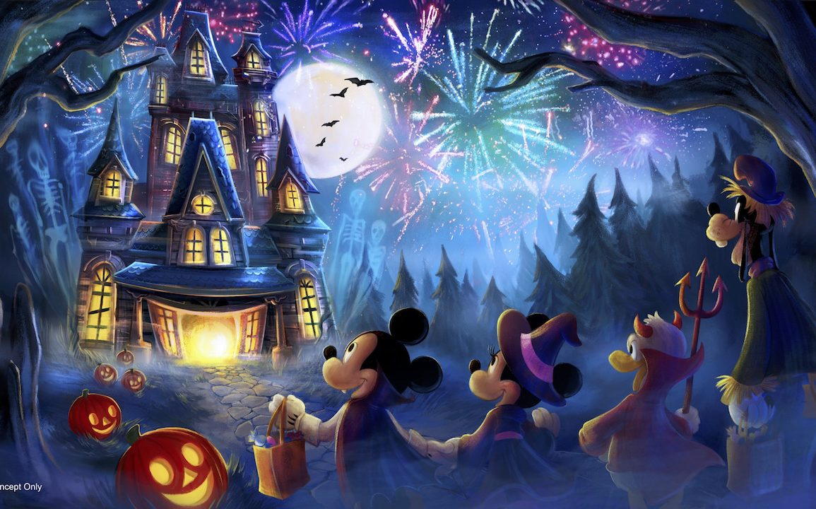 Disney Point Fogos Halloween 2019