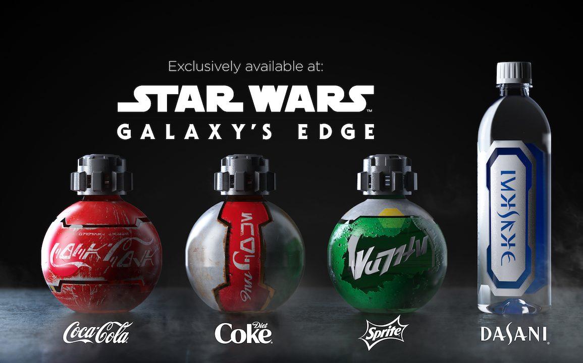 Disney Point Garrafas Star Wars Coca Cola