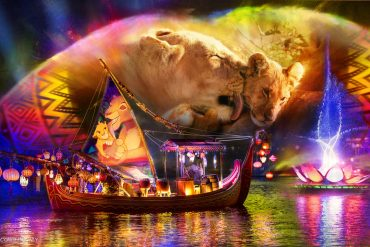 Disney Point Rivers of Light We Are One