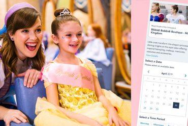Disney Point Transformação das Princesas