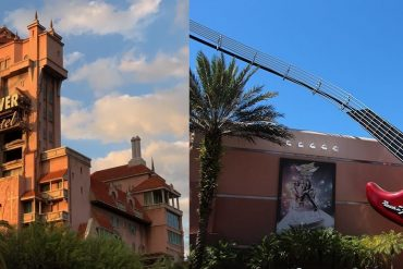 Disney Point Tower of Terror e Rock n Roller Coaster