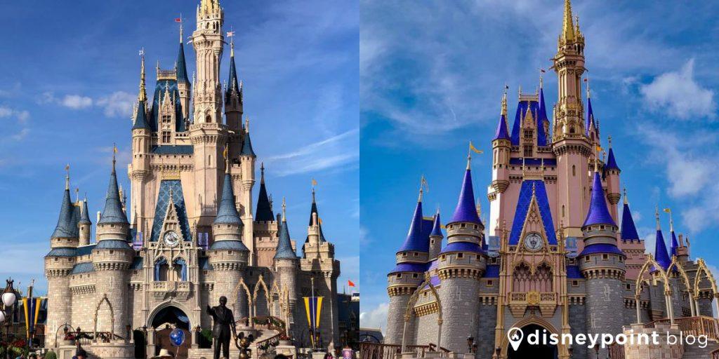 Castelo da Cinderela Antes e Depois