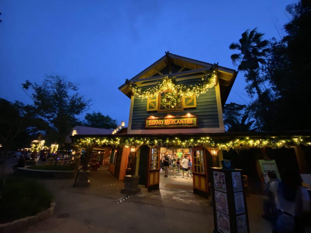 Natal 2020 da Disney Animal Kingdom Lojas