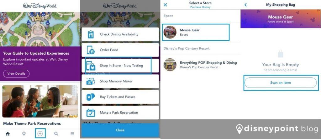 sistema de pagamento por celular na Disney