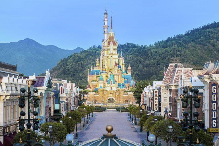 Hong Kong Disneyland pandemia