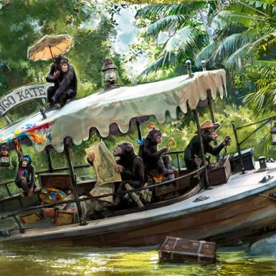 nova história no Jungle Cruise