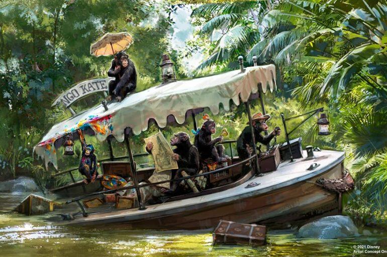 nova história no Jungle Cruise