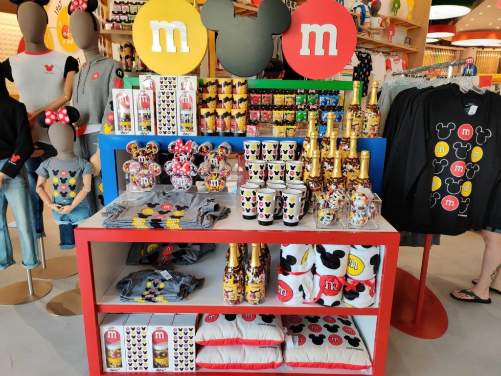 loja M&M's Disney Springs