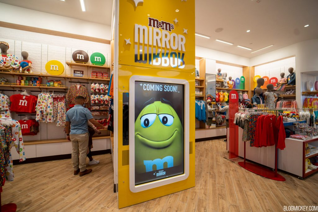 nova loja M&M's Disney Springs