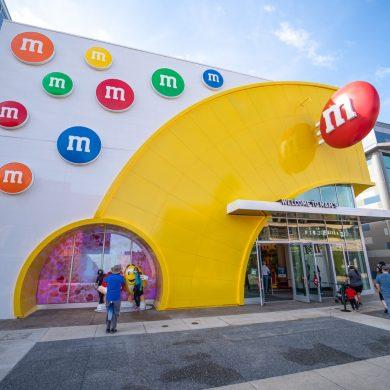 nova loja M&M's Disney Springs