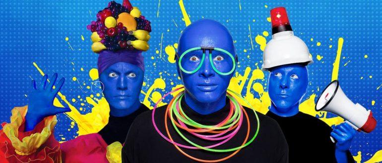 Blue Man Group não fará mais shows na Universal Orlando