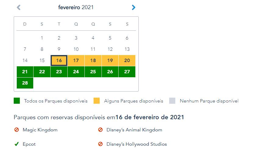Disney Park Pass Estendido até 2023