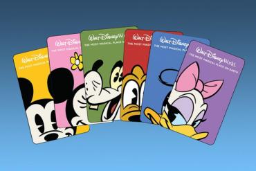 Disney tem novo modelo cartões para seus hotéis