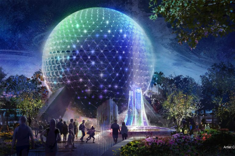 Disney anuncia novo visual da Spaceship Earth no Epcot