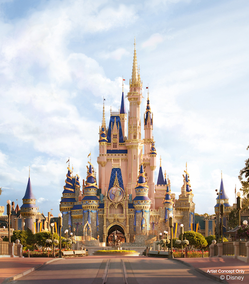 Disney revela novos detalhes do Castelo para comemoração de 50 anos