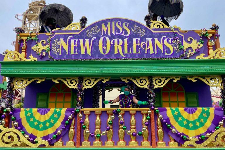 Fotos do Mardi Gras da Universal Orlando