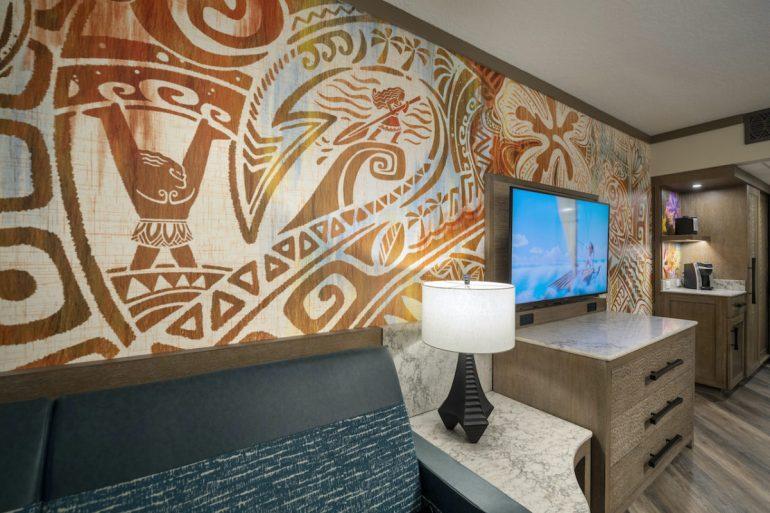 Disney revela novos quartos inspirados no filme Moana no Polynesian