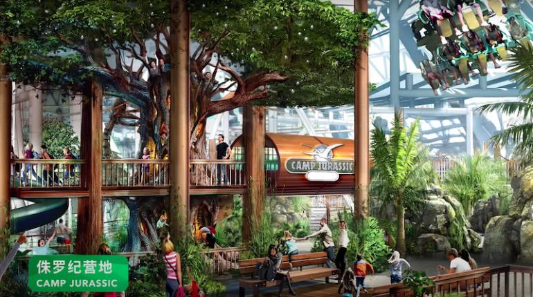 Universal Beijing Resort promete ser inaugurado em Maio de 2021