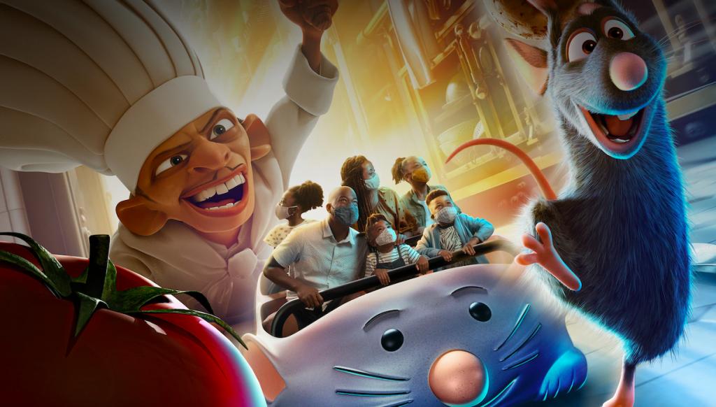 50 anos Walt Disney World Remy Ratatouille