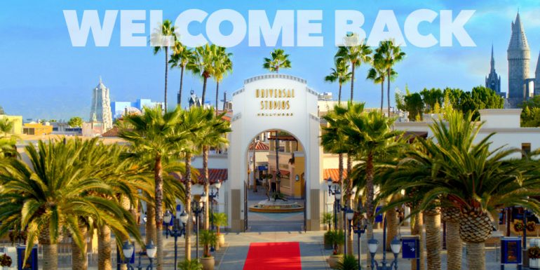 Universal Studios Hollywood anuncia data de reabertura