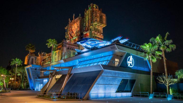 Imagens da Marvel Avengers Campus na Disney California Adventure