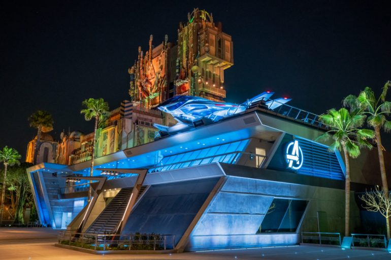 Imagens da Marvel Avengers Campus na Disney California Adventure