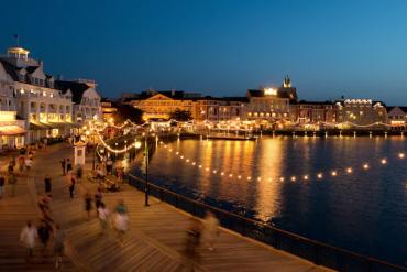 Disney's Boardwalk Inn tem data de reabertura