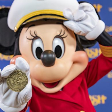 Capitão Minnie estará na proa no navio Disney Wish