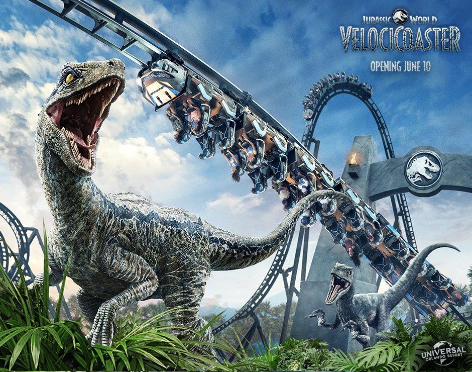 Universal Orlando anuncia data de inauguração da VelociCoaster