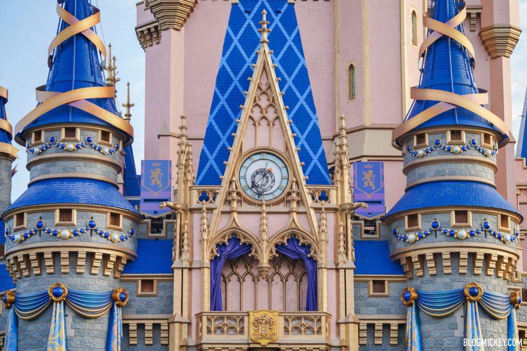 decoração 50 anos castelo cinderela