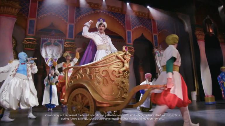 Aladdin será um dos shows especiais do Disney Wish