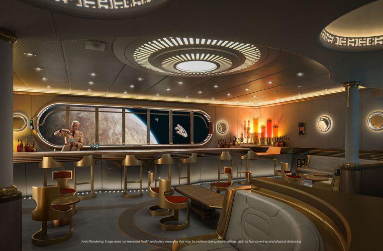 Disney Wish Cruise Line terá o primeiro espaço inspirado em Star Wars