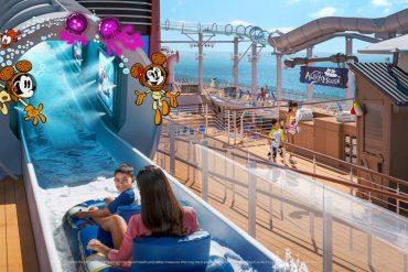 AquaMouse no Disney Wish será a primeira atração no mar